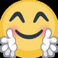 Facebook Hugging Face Emoji