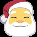 Facebook Santa Claus Emoji