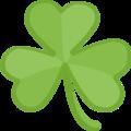Facebook Shamrock Emoji