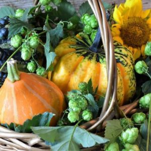 Fall (Autumn) basket