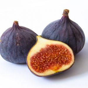 Fig fruit - ripe and cut