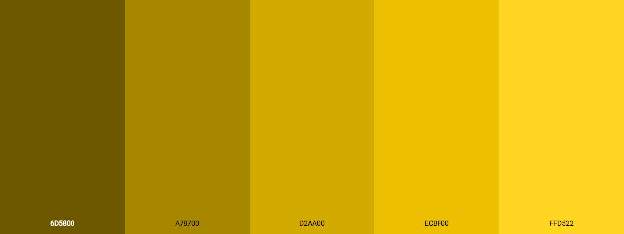 Fine Golden Colors