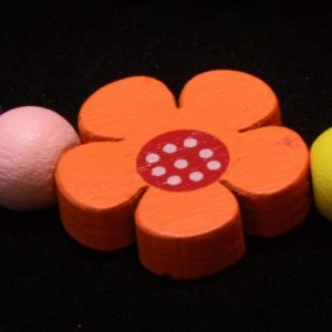 Floral Beads for Girls