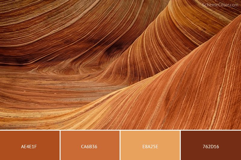 Get Your Rocks Off - Image colors combination