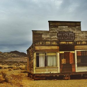 Store in a ghost town