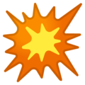Google Collision Emoji