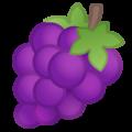 Google Grapes Emoji