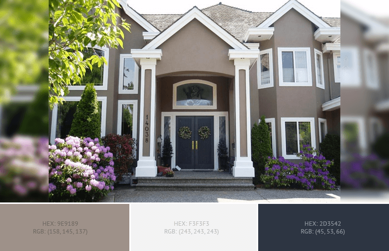 Best home exterior color combinations and design ideas blog - Exterior metal paint colors ideas ...