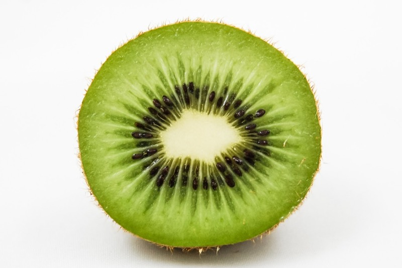 Green Inside Of Kiwi Image Colors Combination