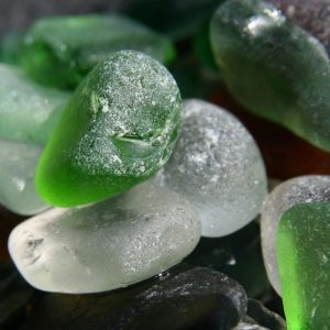 Sea glass greens