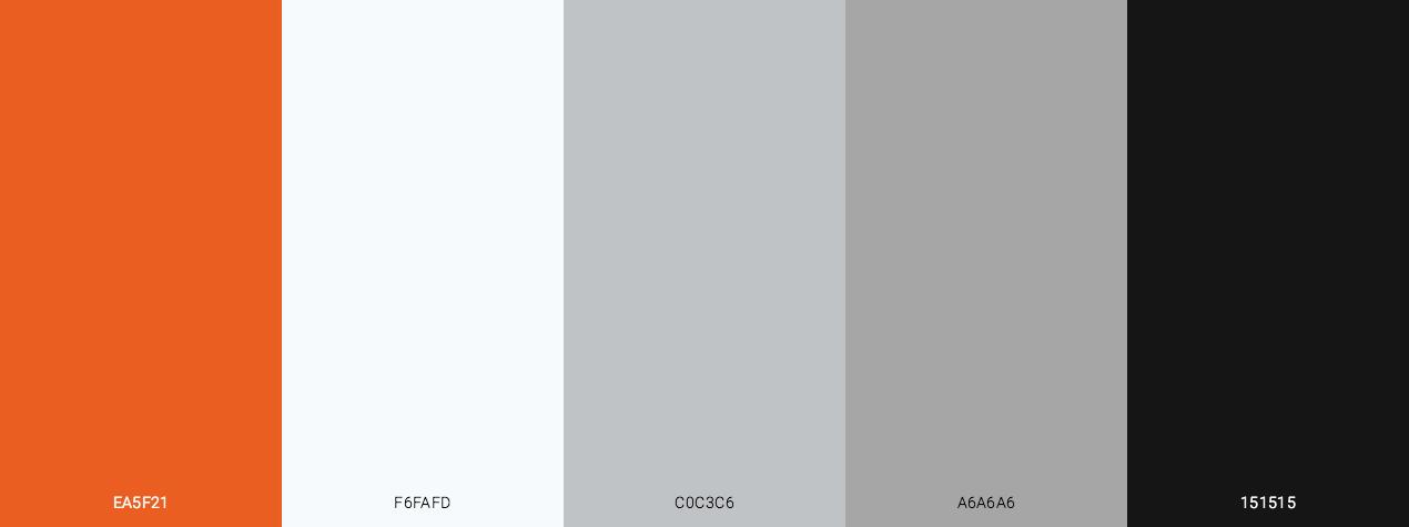 Halloween Ghost Color Scheme