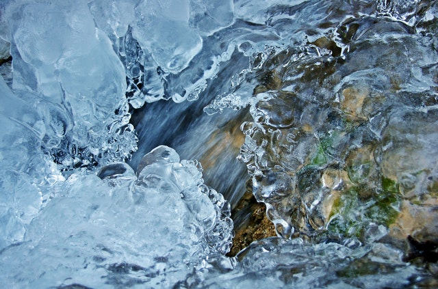 Icy Rocky River