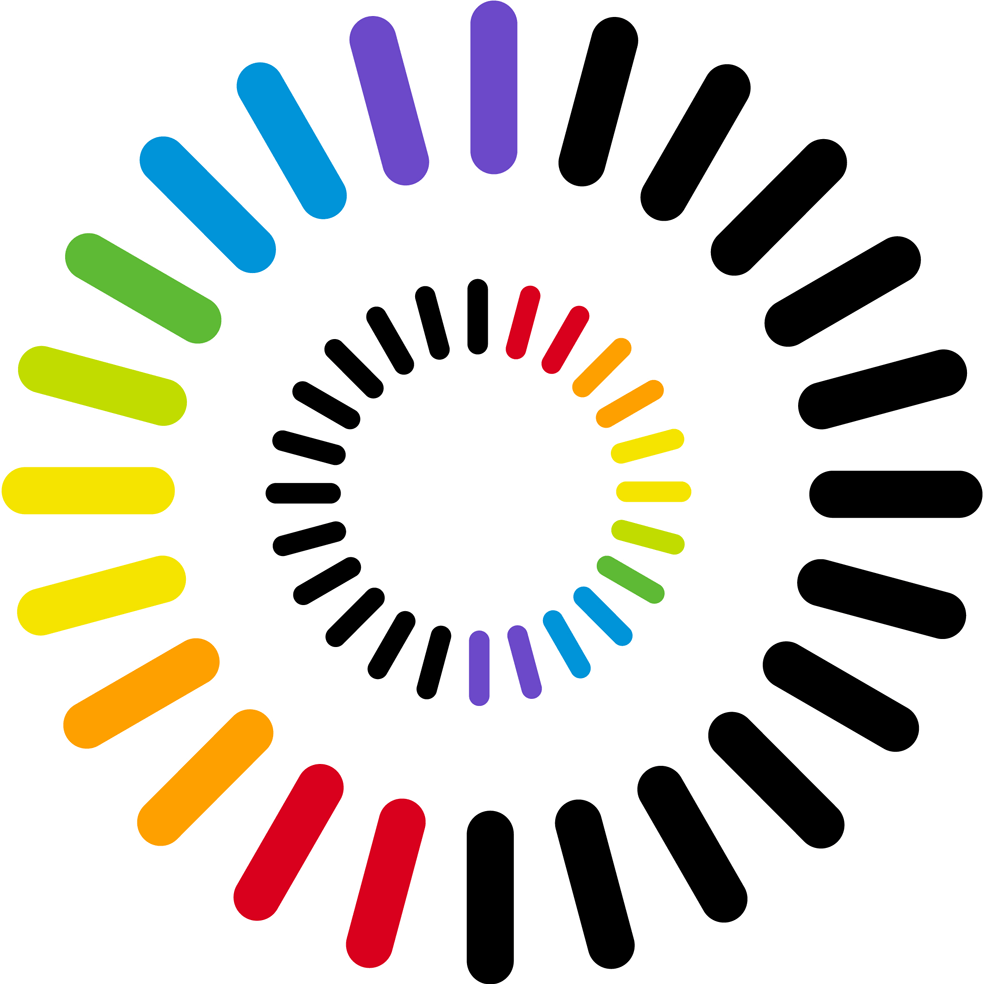 Logo of the International Colour Day