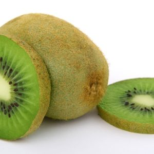 Kiwi Fruits Whole and Cut