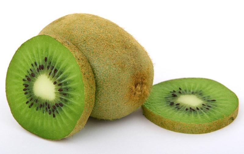 Kiwi Fruits Whole and Cut