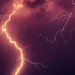 Lightning with Fire