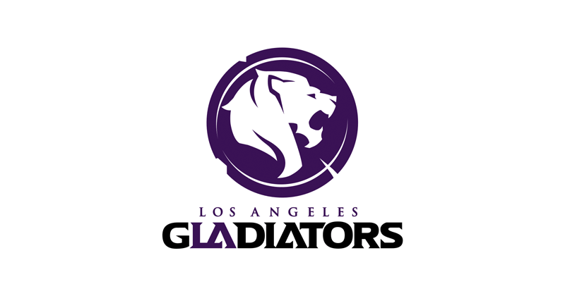 Los Angeles Gladiators (OWL) Logo