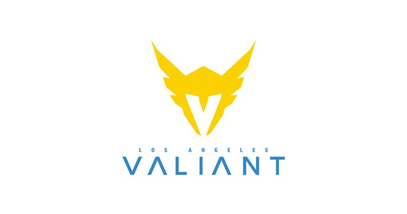 Los Angeles Valiant (OWL) Logo