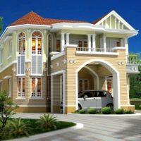 Luxurius Home Exterior colors combination