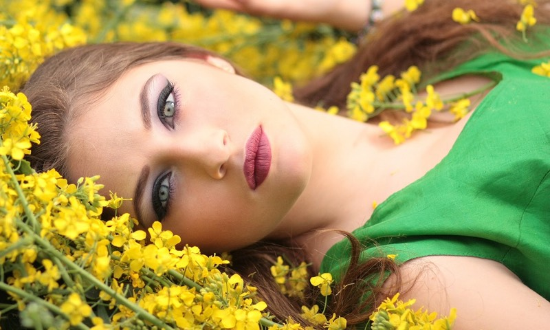 Lying In A field