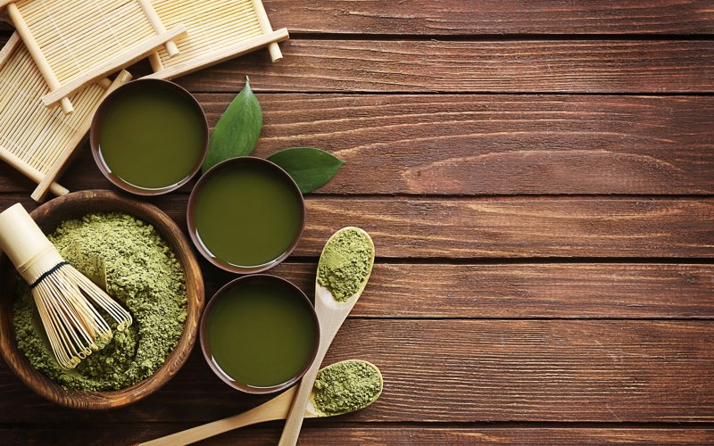 Matcha green tea preparation
