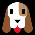 Microsoft Dog Face Emoji