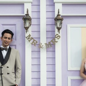 Mr and Mrs Lavender