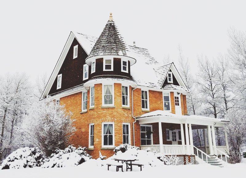 My Castle in Winter