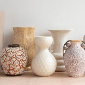 Neutral Brown Vases