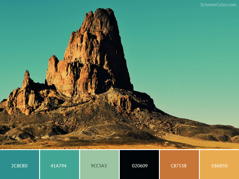 Old Rock And Roll - Image colors combination
