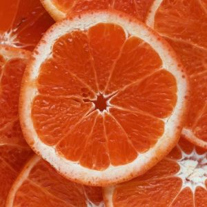 Orange Slices image color scheme