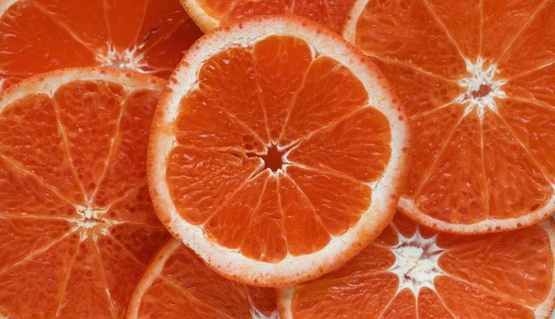 Orange Slices image color scheme