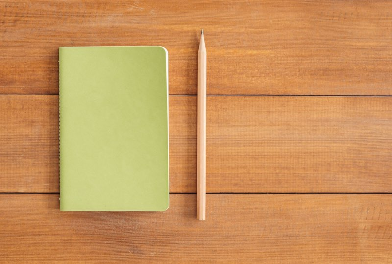 Pale Green Notebook