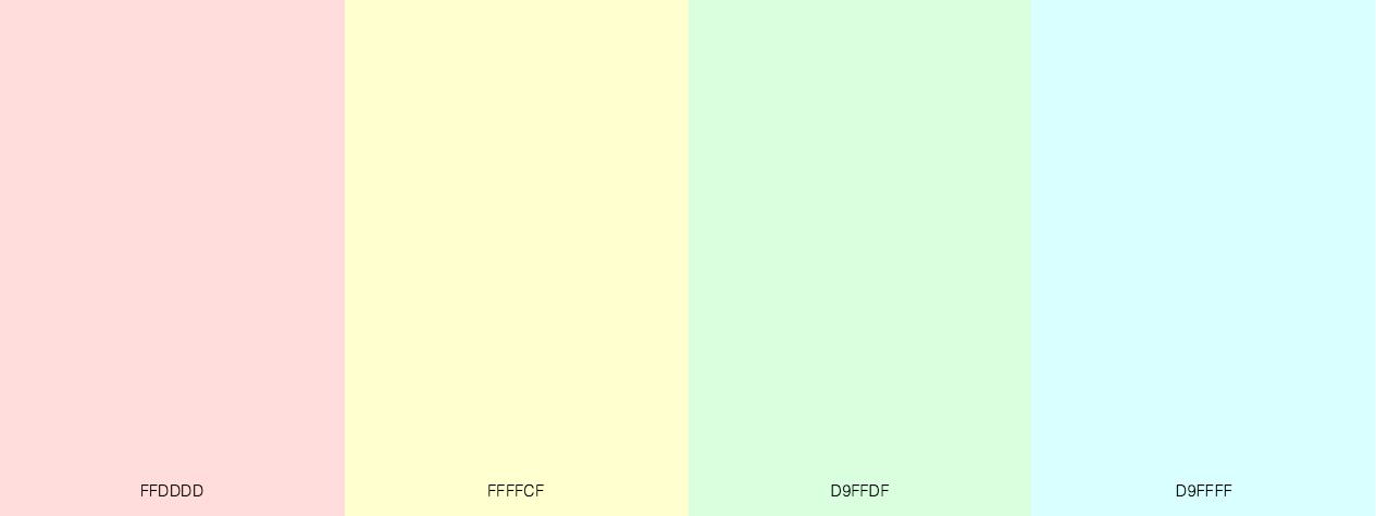 Pastel Pales