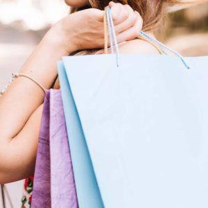Pastel Paper Bags