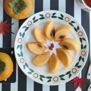 Persimmon Fruit Plate
