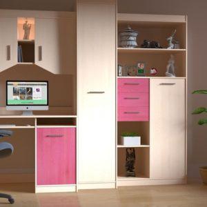 Pink Computer Room