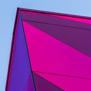 Pink-Purple Glass