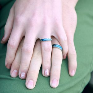 Promising lovers hands