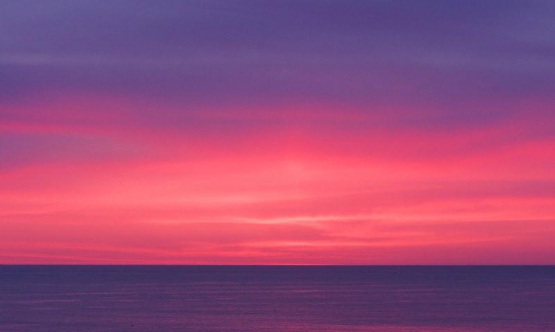 Purple-Red Sunset