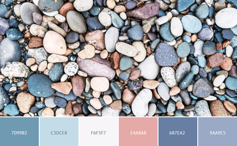 Rock Candy - Image colors combination