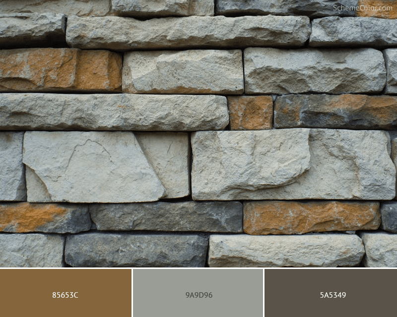 Rocky Wall - Image colors combination