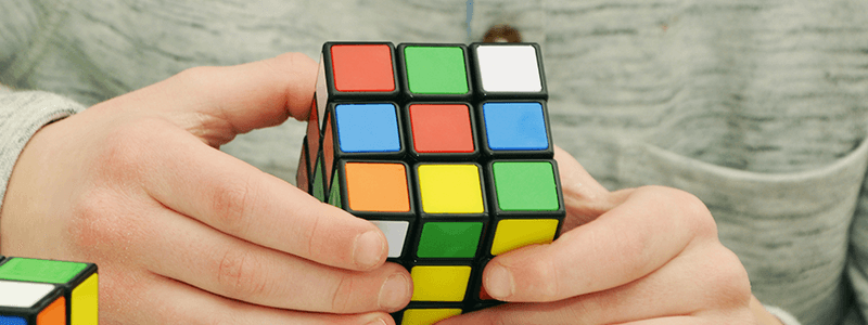 Colors Of The Rubixs Cube
