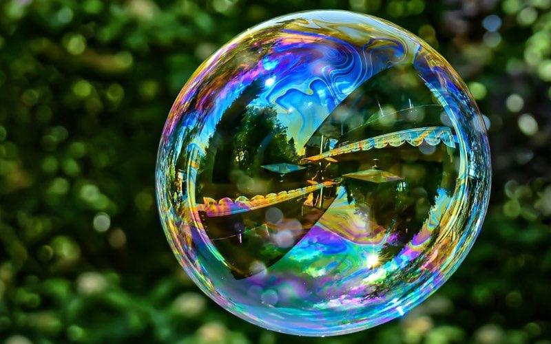 Soap Bubble Colors