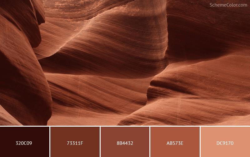 Soft As A Rock - Image colors combination