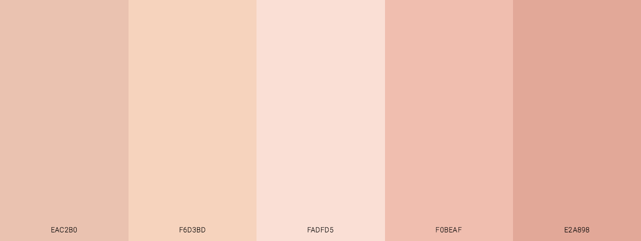 Soft Skin color scheme