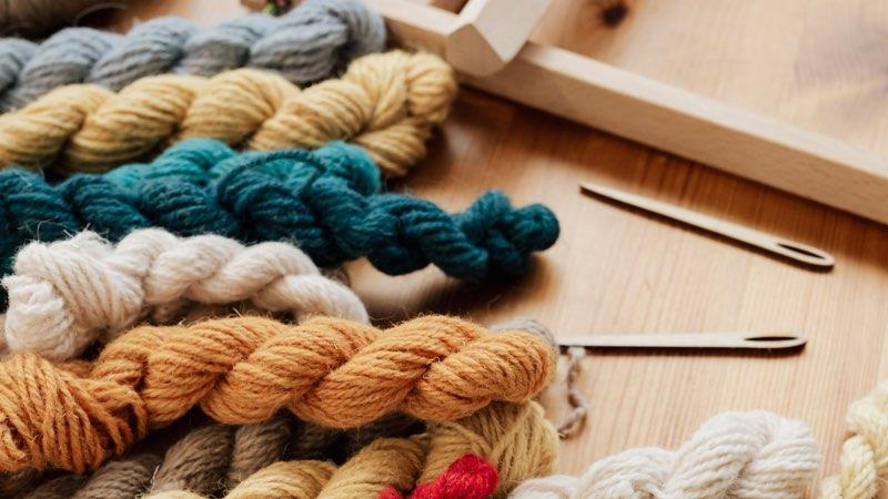 Yarn and wool