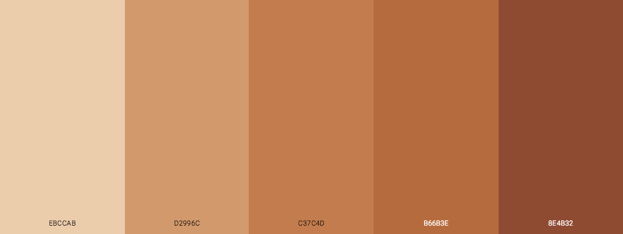 Tan On Skin Color Scheme