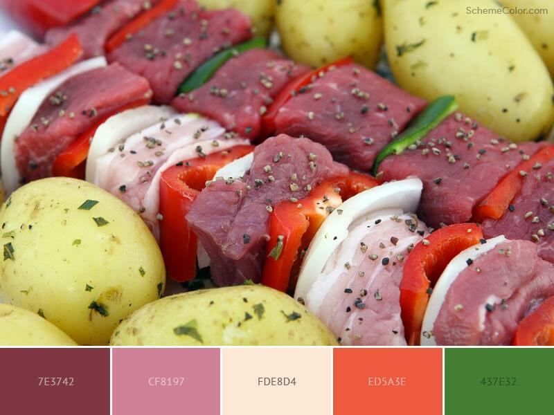Turkish cuisine decoration