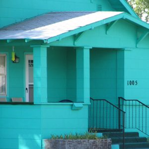 Fully Turquoise Color House